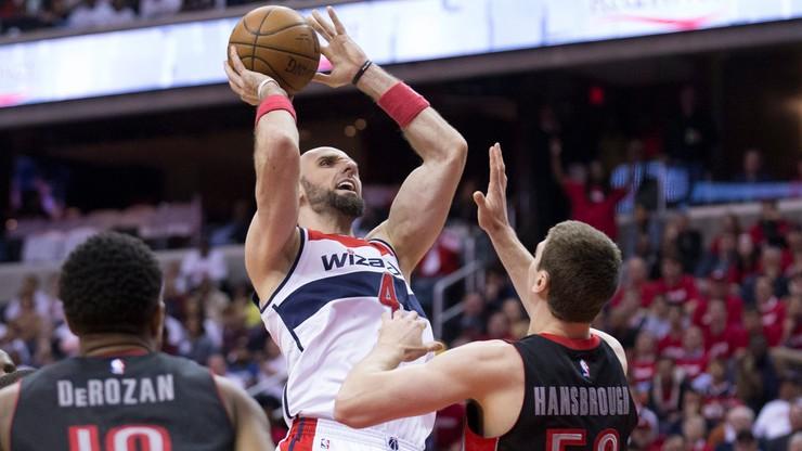 NBA: Double-double Gortata! Kolejna porażka Wizards