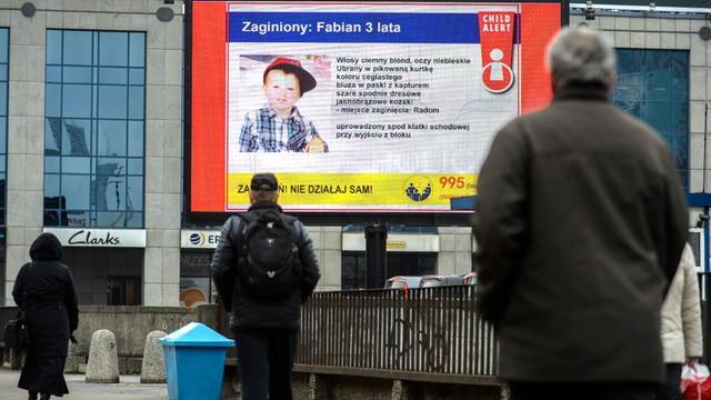 Wniosek o przedłużenie aresztu ojcu uprowadzonego 3-latka z Radomia