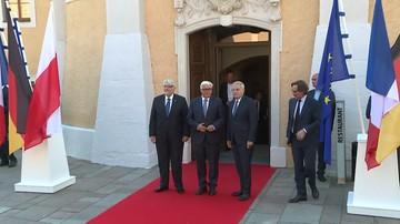 28-08-2016 12:39 Spotkanie szefów MSZ Polski, Niemiec i Francji w 25. Rocznicę Trójkąta Weimarskiego