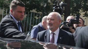 24-07-2017 22:44 Macierewicz: bez zmian w wymiarze sprawiedliwości wszystkie reformy, które przeprowadziliśmy, mogą zostać zakwestionowane