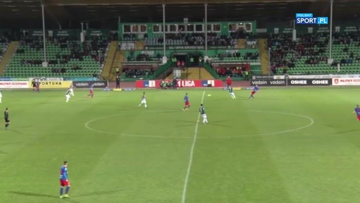 Olimpia Grudziądz - Odra Opole 0:2. Skrót meczu