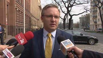Minister Szczerski: Polska przeciw siłowemu przenoszeniu uchodźców