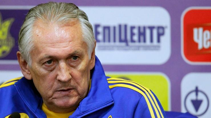 Trener Ukrainy: Trzy drużyny powalczą o drugie miejsce