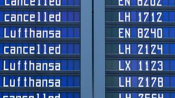 23-11-2016 14:58 Lufthansa odwołuje rejsy do Warszawy i Krakowa