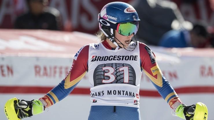 Shiffrin wygrała slalom gigant w Courchevel