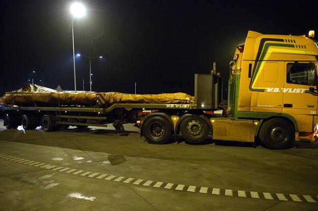 Konwój ze szczątkami malezyjskiego boeinga opuścił Polskę