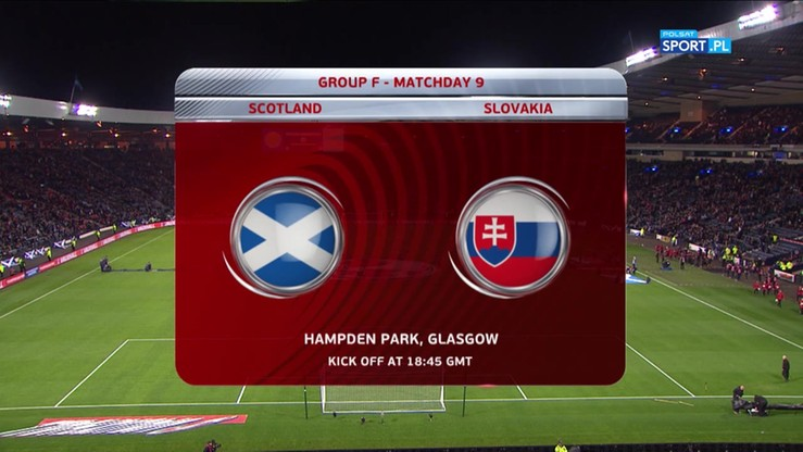 2017-10-06 Szkocja - Słowacja 1:0. Skrót meczu