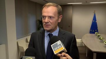 09-11-2016 16:24 Tusk: szanujemy wybór Amerykanów, ale jesteśmy świadomi wyzwań