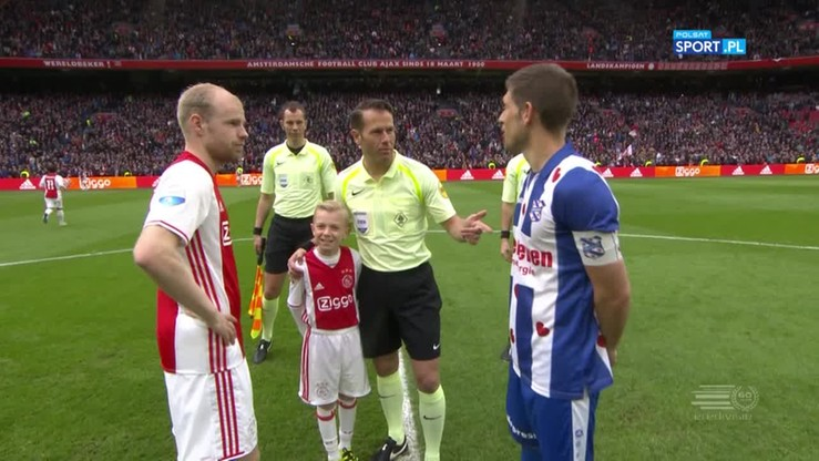 Ajax Amstedam - SC Heerenveen 5:1. Skrót meczu