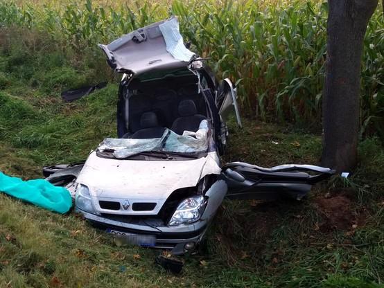 Śmiertelny wypadek w Wielkopolsce. Kierowca lawety miał ponad promil alkoholu
