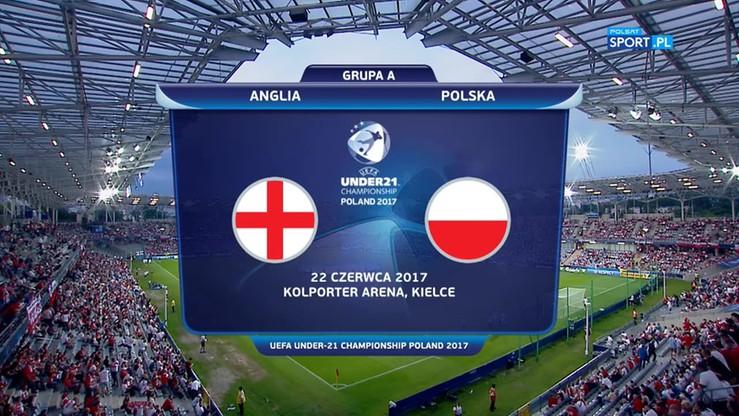 2017-06-22 Euro U-21: Polska - Anglia 0:3. Skrót meczu