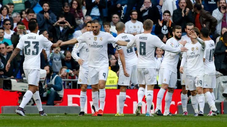 Wysokie zwycięstwo podrażnionego Realu