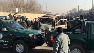 28-12-2015 06:57 Zamach samobójczy niedaleko lotniska w Kabulu. Jedna osoba nie żyje, 13 rannych