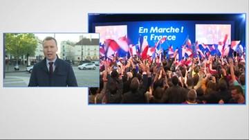 2017-04-24 Emmanuel Macron zwycięzcą I tury wyborów prezydenckich