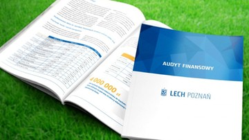2016-11-22 Lech Poznań opublikował audyt finansowy klubu