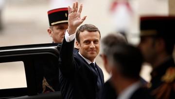 14-05-2017 11:39 Macron uroczyście objął urząd prezydenta Francji