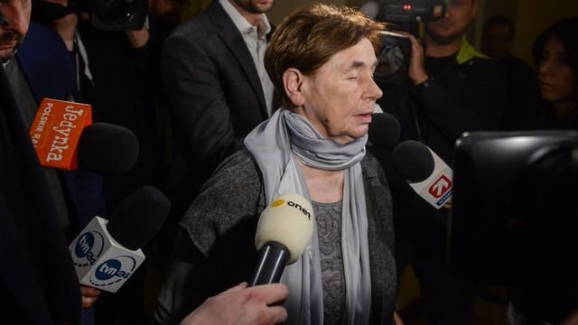 Zofia Romaszewska: poprawki PiS do ustawy o SN są fatalne