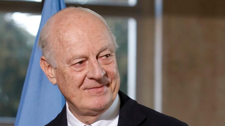 Mediator ONZ chce przyspieszenia rozmów ws. Syrii