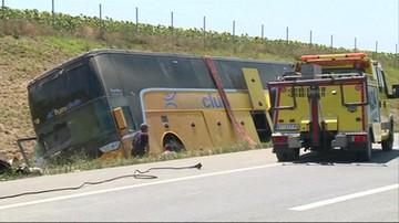 Wypadek polskiego autobusu z dziećmi w Serbii
