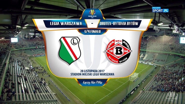 Legia Warszawa - Drutex-Bytovia 4:2. Skrót meczu