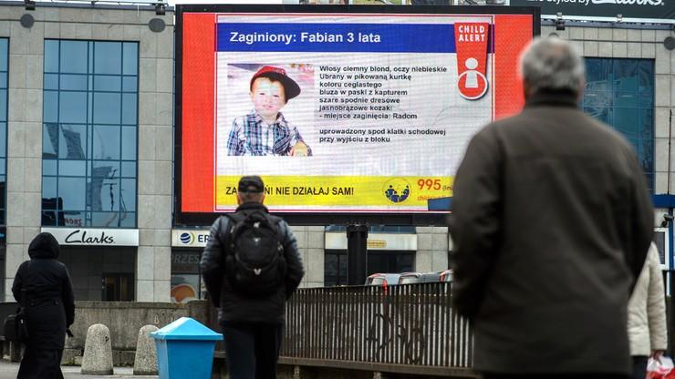 Zarzuty dla ojca uprowadzonego 3-letniego Fabiana. Niewykluczony też list gończy