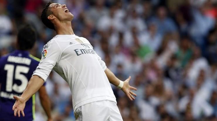 Ronaldo nie wytrzymał! Pogonił reportera (WIDEO)