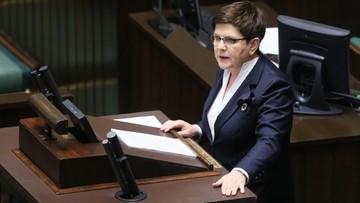 """07-04-2017 12:28 """"U was jest jak w »Shreku«"""". Premier Szydło do opozycji"""