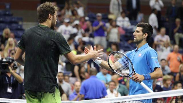 US Open: Janowicz za słaby na Djokovica