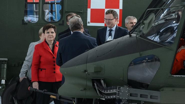 Szydło: stawiamy na to, by sprzęt dla armii produkowany był w Polsce