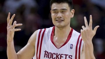 2016-12-30 NBA: Yao Ming szóstym graczem Rakiet z zastrzeżonym numerem