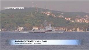 Rosyjskie korwety na Bałtyku - NATO w gotowości