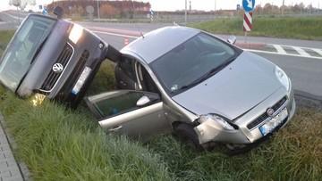 09-05-2016 09:59 Pościg za złodziejami samochodów. Radiowóz zepchnął ściganych do rowu