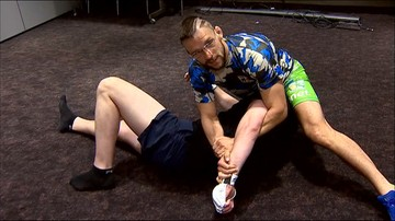 Lekcja MMA w najlepszym wydaniu. Reporter Polsat Sport na deskach