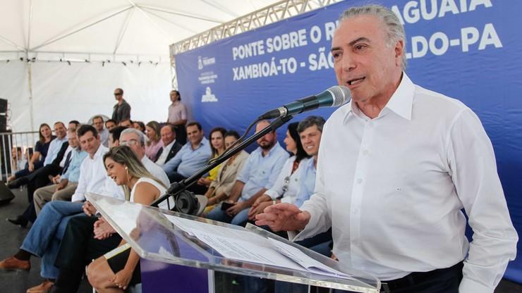 Jest nowy akt oskarżenia przeciwko prezydentowi Brazylii. Chodzi m.in. o udział w organizacji przestępczej