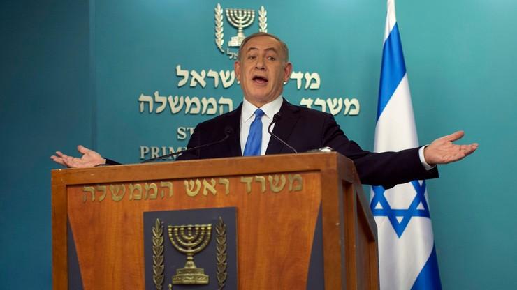 """""""Przemówienie przeciwko Izraelowi"""". Netanjahu ocenia wypowiedź Kerry'ego o osadnictwie"""