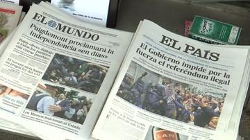 02-10-2017 19:15 Hiszpańskie media krytykują polityków UE za brak solidarności z Madrytem