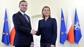 02-06-2016 12:48 Mogherini: Polska jest silnym członkiem rodziny UE. Szefowa unijnej dyplomacji z wizytą w Polsce