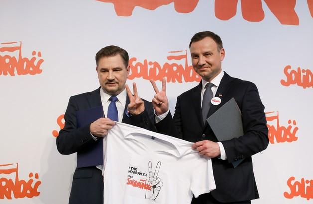 Duda poparł Dudę, czyli Solidarność z PiS-em
