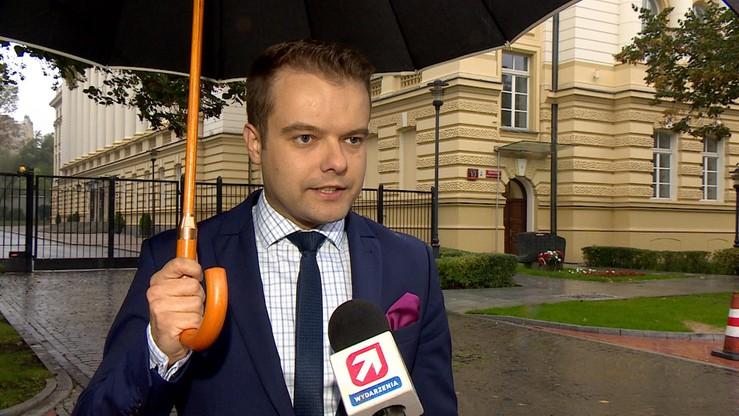 Bochenek: premier chętnie spotka się z rezydentami, ale była prośba, by zakończyć protest
