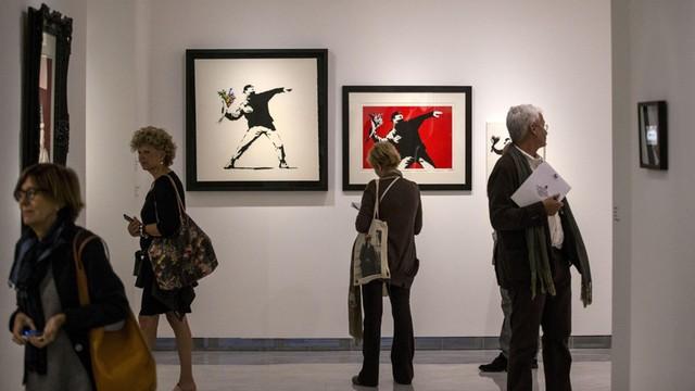 Włochy: Wystawa prac Banksy'ego w Rzymie