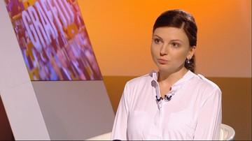 """15-11-2016 10:08 """"To był stracony rok dla Polski"""". Monika Rosa w programie """"Graffiti"""""""