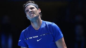 2017-11-14 ATP Finals: Nadal wycofał się z turnieju