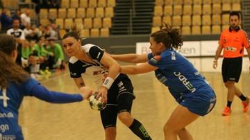 2016-11-12 Puchar EHF: Piłkarki MKS Selgros Lublin przegrały w Danii. Muszą odrobić jedną bramkę