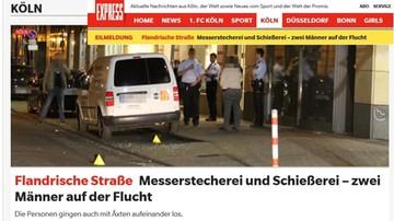 15-08-2016 09:04 Atak nożowników i strzały w centrum Kolonii