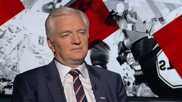 """22-06-2017 22:20 """"My się różnimy z PiS-em głównie w sprawach gospodarczych"""". Gowin o Polsce Razem"""