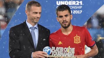 2017-07-01 Ceballos najlepszym zawodnikiem Euro U-21