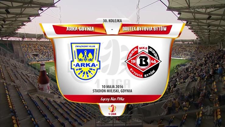 2016-05-10 Arka Gdynia - Drutex-Bytovia 1:1. Skrót meczu