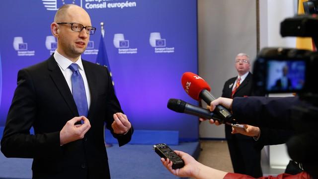 Jaceniuk: Putin jest politycznym trupem
