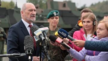 Macierewicz: Juźwik pełnił swe funkcje w sposób szkodliwy
