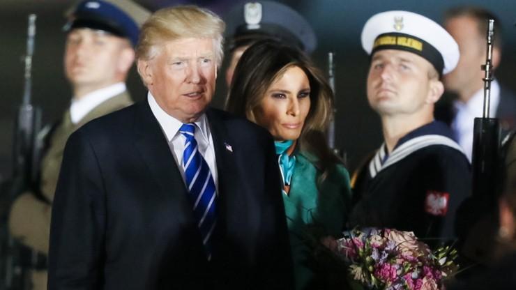 Napięty plan dnia podczas wizyty Trumpa w Polsce